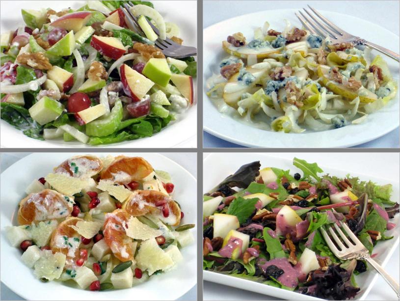 4 salads