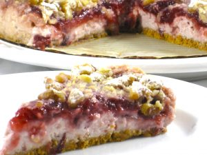 Elegant Cranberry Cream Cheese Torte Recipe with Weight Watchers Points