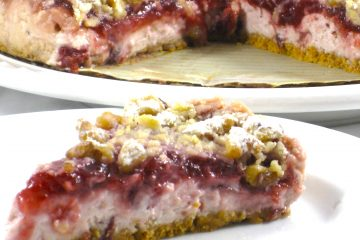 cranberry cream cheese torte  photo