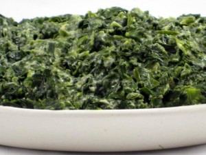Rich and Dreamy Creamed Spinach Low Fat Recipe