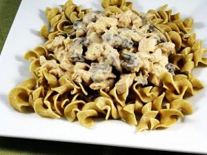 Low Fat Chicken Stroganoff Recipe - Skinny Kitchen