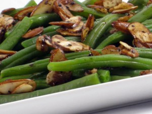 Low Fat Green Beans Armandine Recipe - Skinny Kitchen