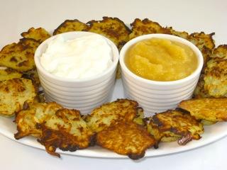 Potato Pancake Latkes Recipe for Hanukkah - Skinny Kitchen