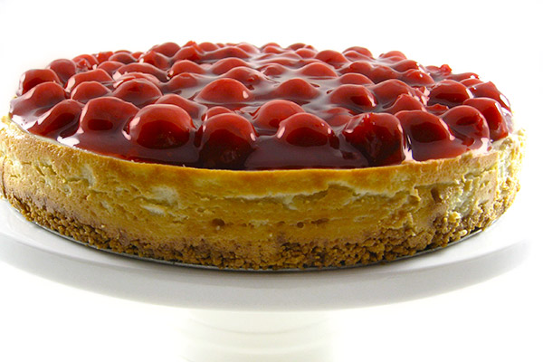 cherry-topped-cheesecake