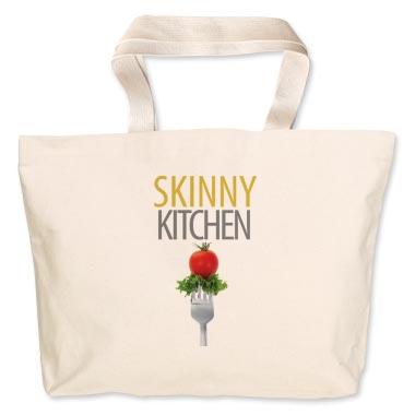 Skinny Kitchen Jumbo Grocery Tote
