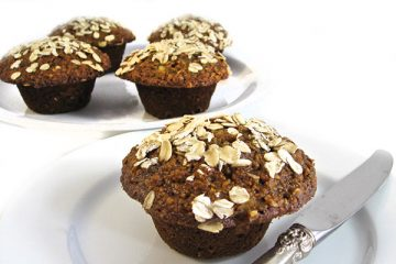 apple bran muffin
