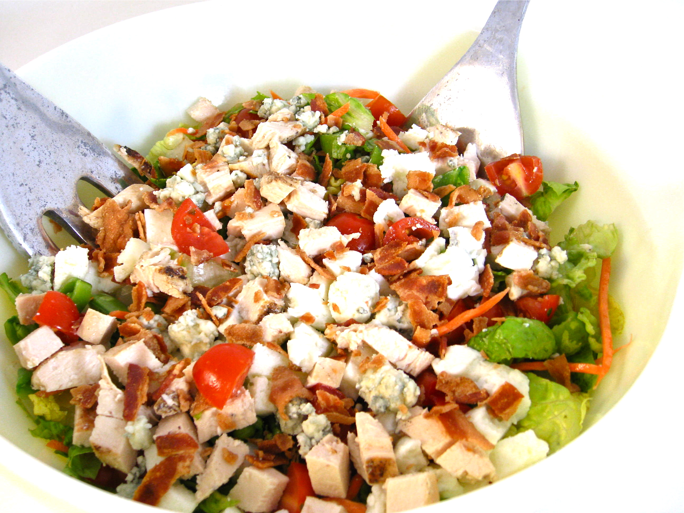 Cobb Salad…A Classic Made Skinny with Weight Watchers Points ...