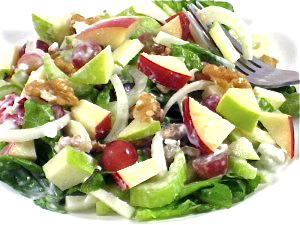 ... Waldorf Salad Made Skinny with Weight Watchers Points | Skinny Kitchen