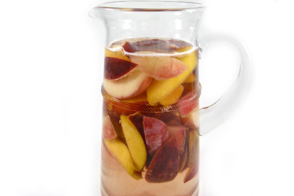 Sangria Blanca with Summertime Stone Fruits with Weight Watchers ...