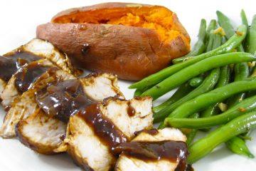 turkey tenderloin with balsamic glaze dinner photo 2