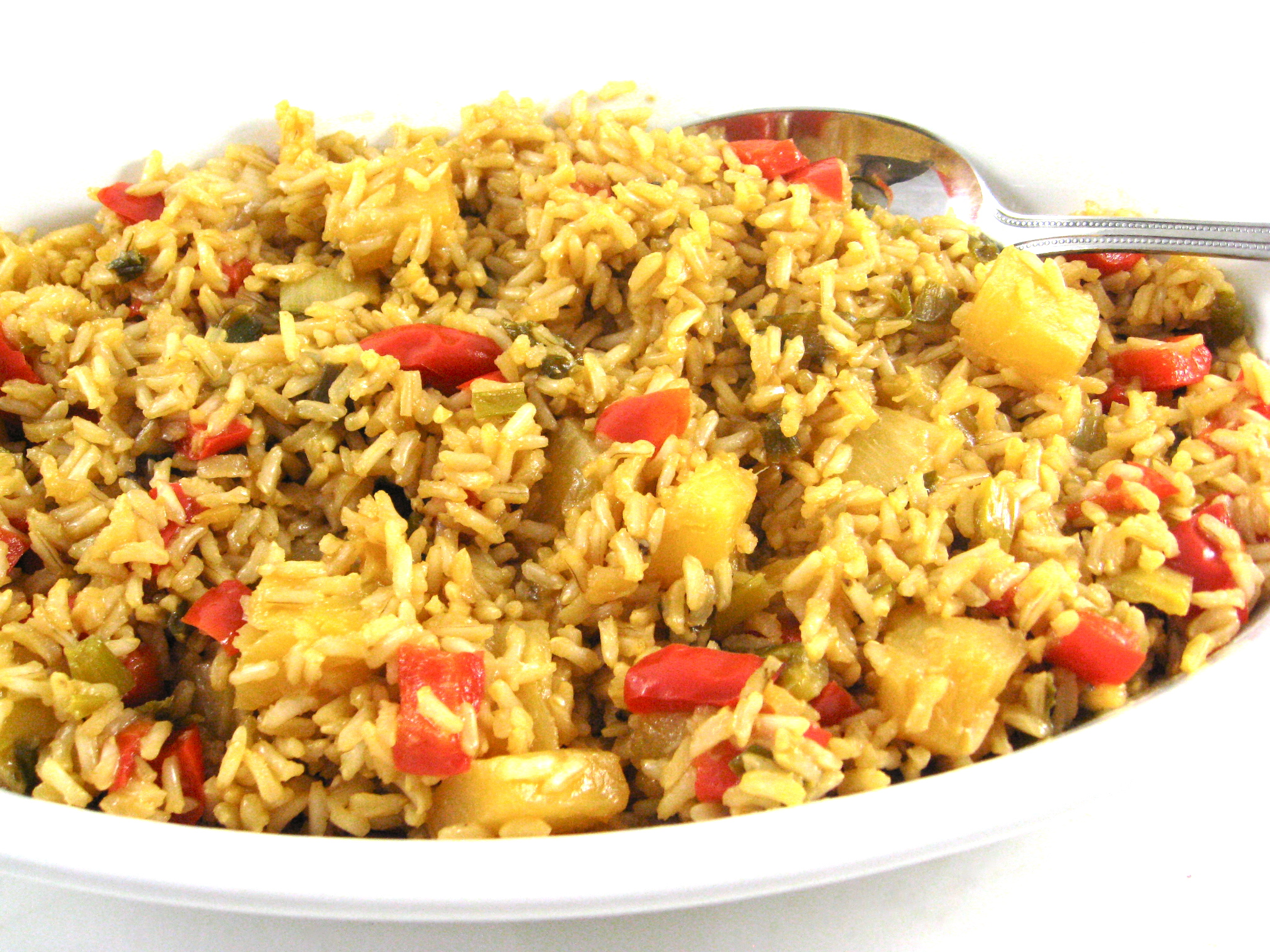 Simple To Make And Very Healthy, Pineapple Brown Rice