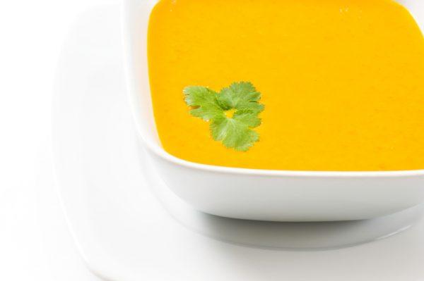 Colorful Squash Soup