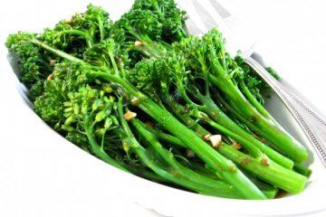 Broccolini with Balsamic Vinaigrette