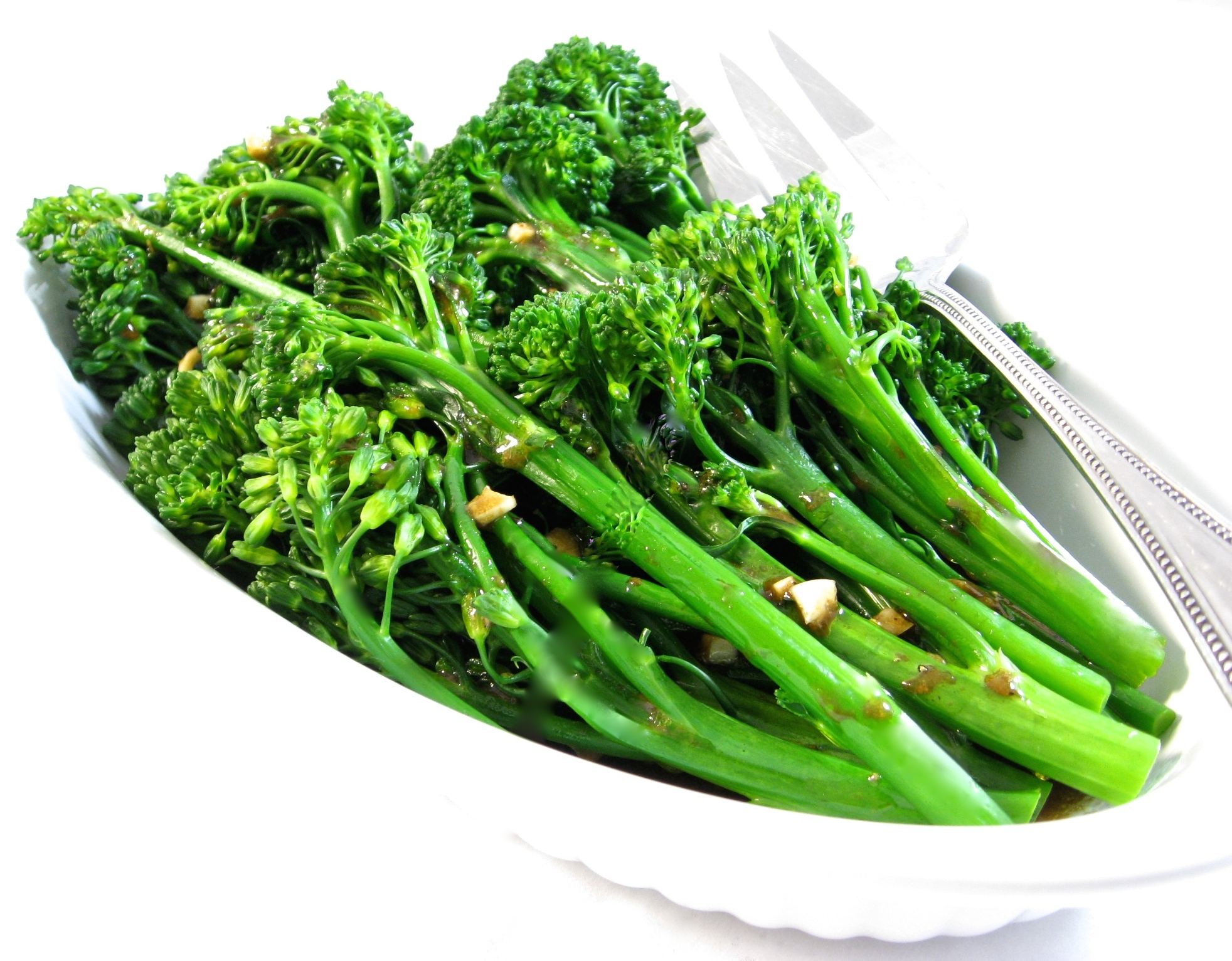 How To Plan A Kitchen Broccolini With Balsamic Vinaigrette With Weight Watchers