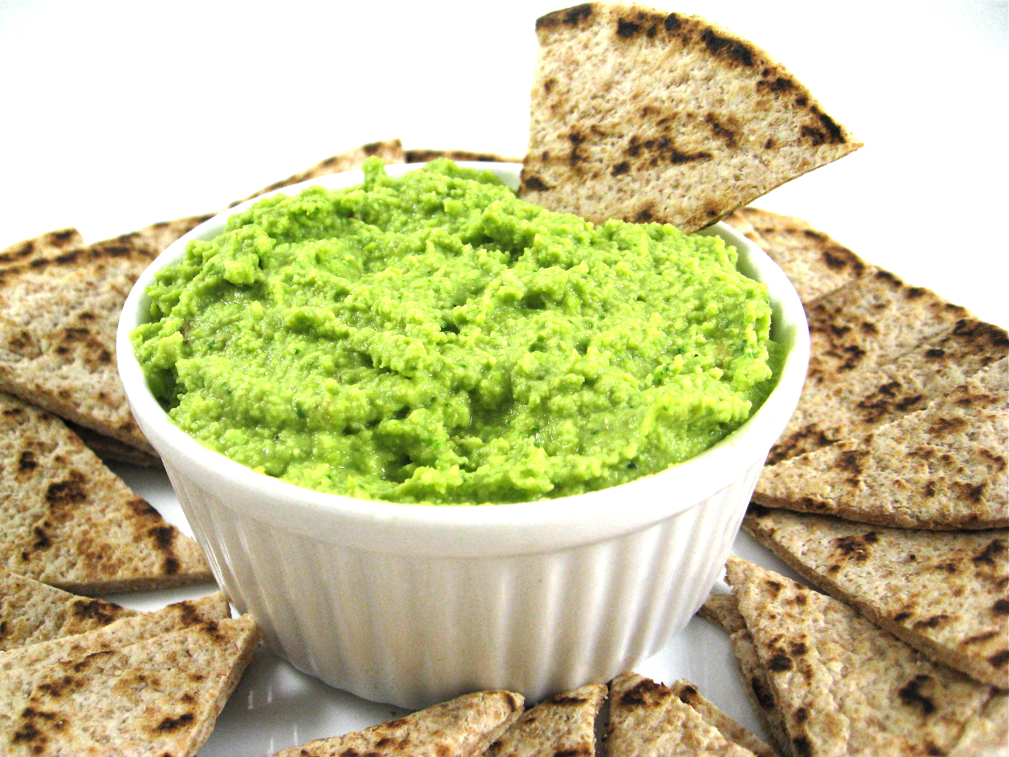 Fabulously Healthy, Edamame, Spinach and Garlic Hummus with Weight ...