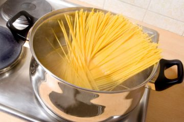 pasta boiling photo