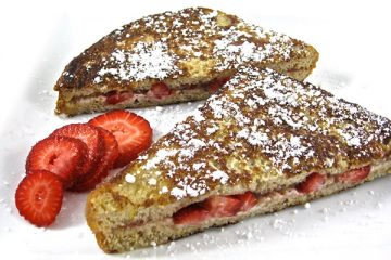 strawberry french toast