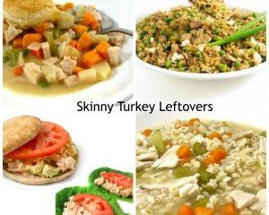 skinny turkey leftovers