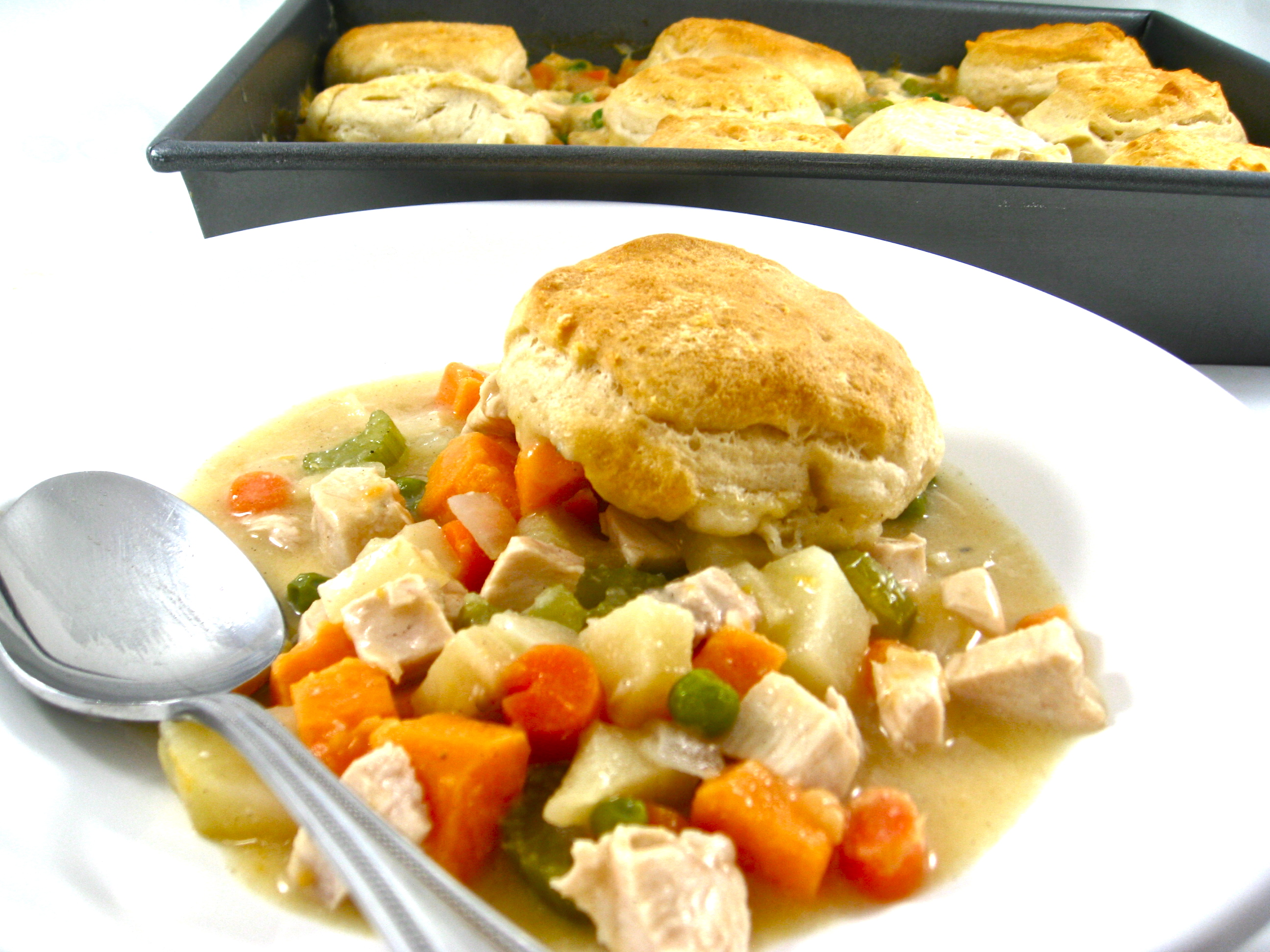Skinny Chicken Pot Pie Recipe — Dishmaps