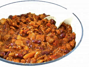 how to make chilli con carne with baked beans