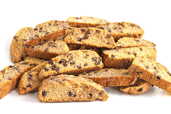 Skinny Cinnamon Chocolate Chip Biscotti with Weight Watchers Points ...