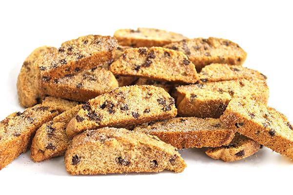 Skinny Cinnamon Chocolate Chip Biscotti with Weight ...