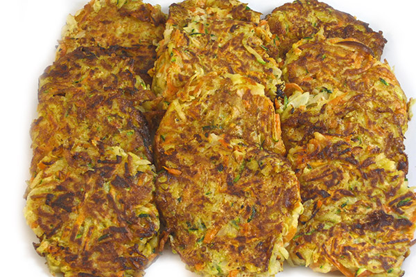 Skinny and Delicious Party Potato Pancakes (Latkes) with Weight ...