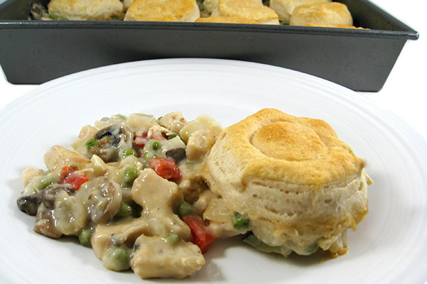Luxuriously Rich, Skinny Chicken Pot Pie Italiano with Weight Watchers ...