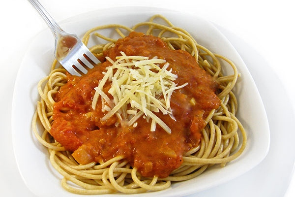 Skinny Spaghetti with a Fabulous Homemade Marinara Sauce with Weight ...