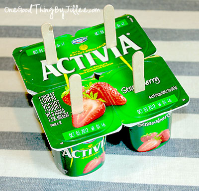 The Easiest Frozen Yogurt Pops Ever! with Weight Watchers Points ...
