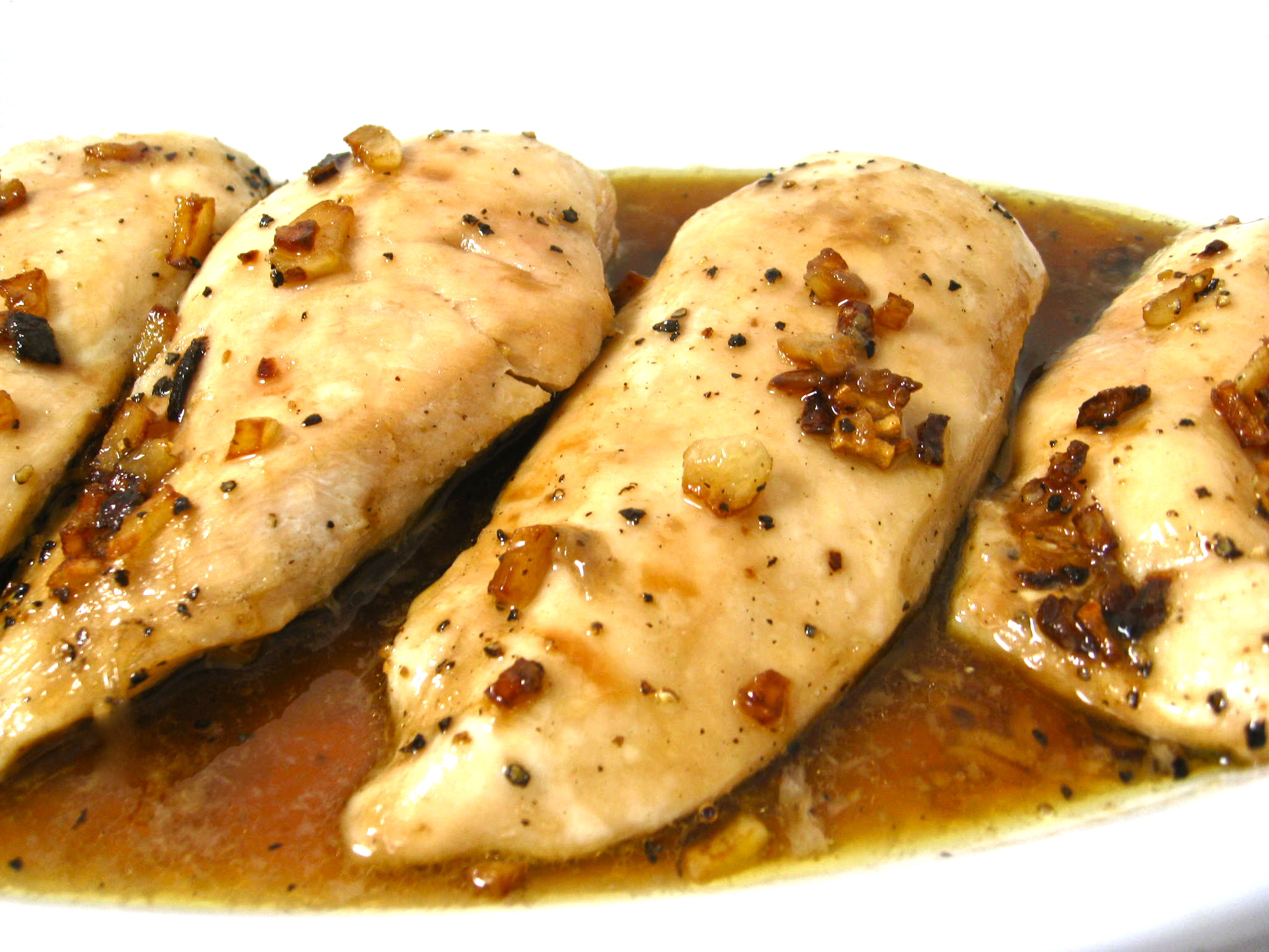 garlic chicken photo