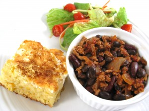 Turkey-chili-and-cornbread-casserole-meal-photo-3-300x225