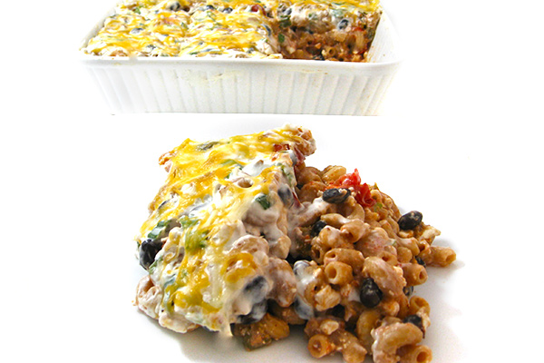 Mexican-Mac-and-Cheese-Casserole
