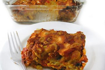 vegetarian cornbread casserole
