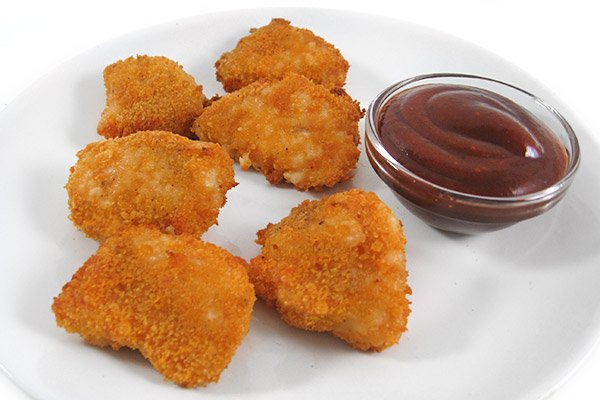 Guilt Free Chicken Nuggets With Weight Watchers Points Skinny Kitchen