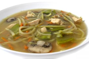 Chinese Chicken Vegetable Soup