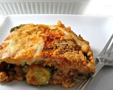 noodle-free lasagna