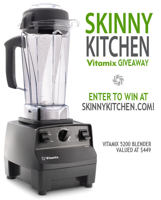 Skinny Kitchen's Vitamix Giveaway! With Weight Watchers