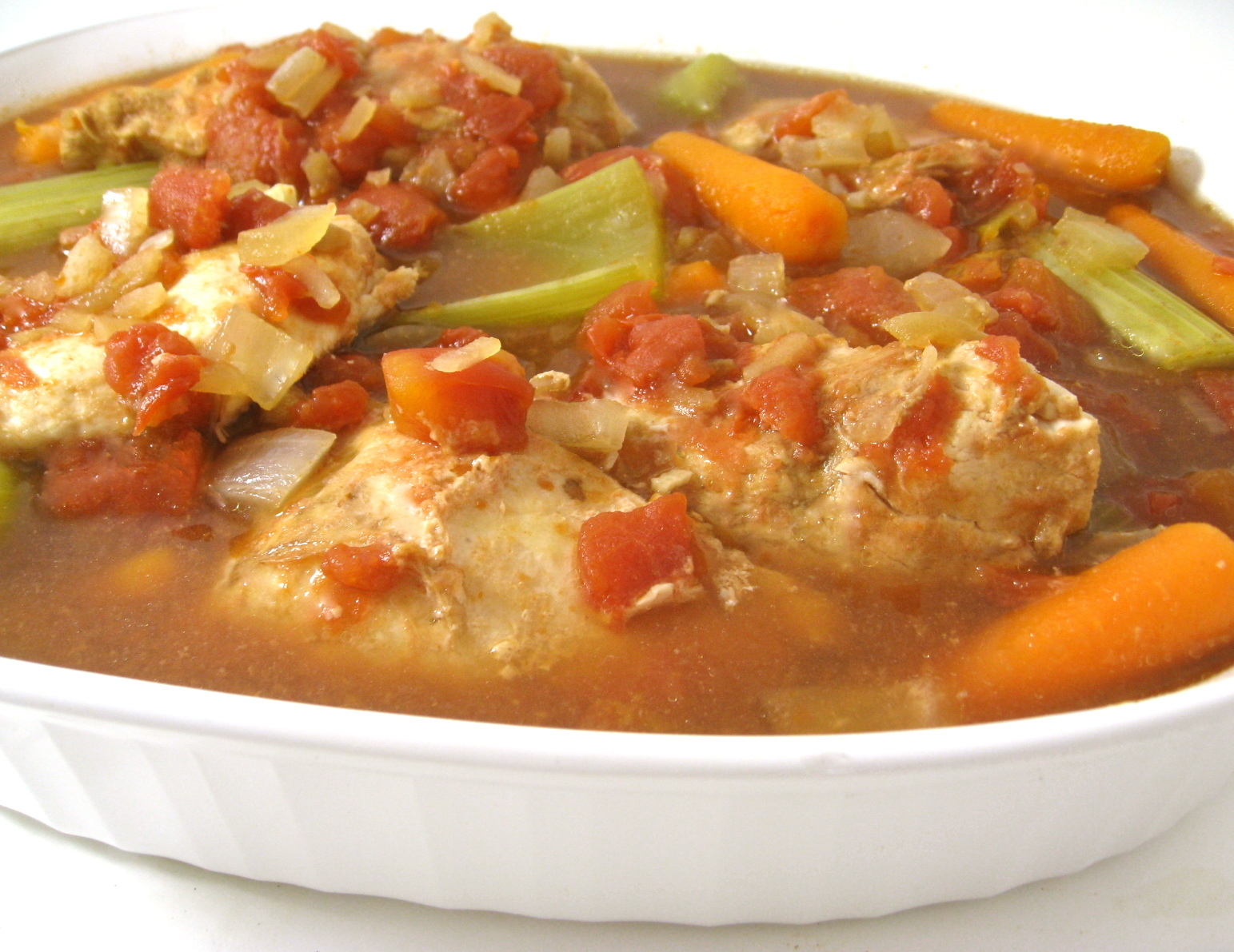 Easy Peasy, Skinny Crock Pot Chicken with Weight Watchers Points ...