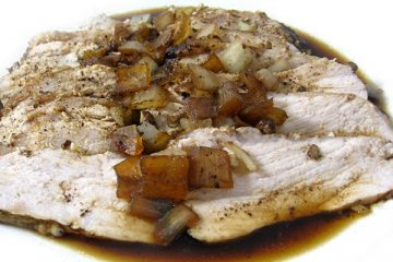Balsamic pork tenderloin