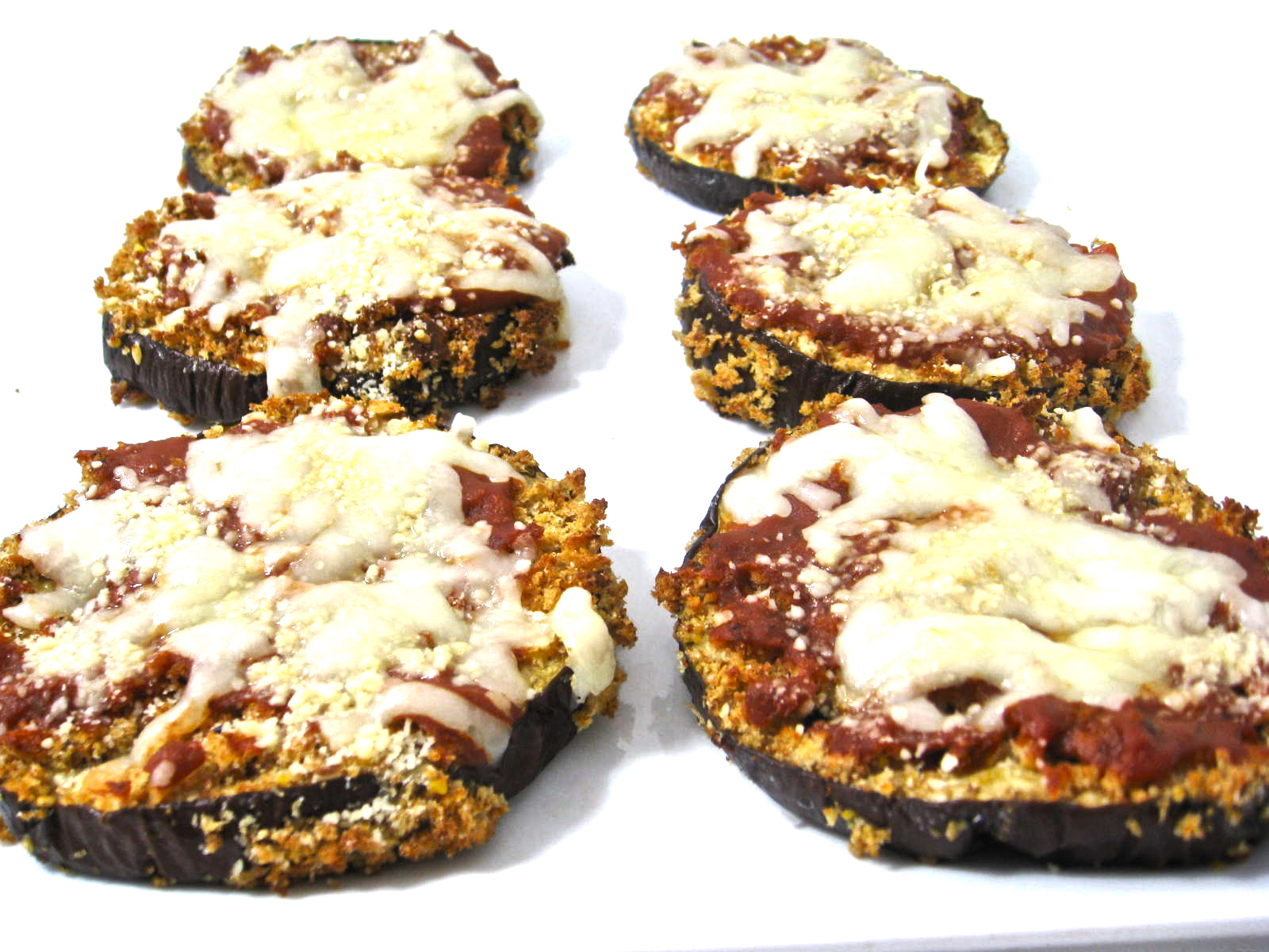 eggplant pizza photo