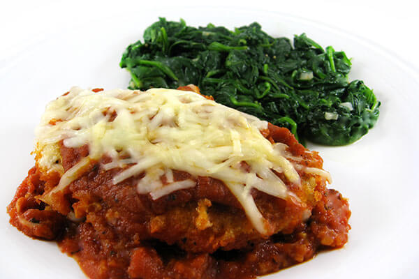 Skinny Chicken Parmigiana with Weight Watchers Points | Skinny Kitchen