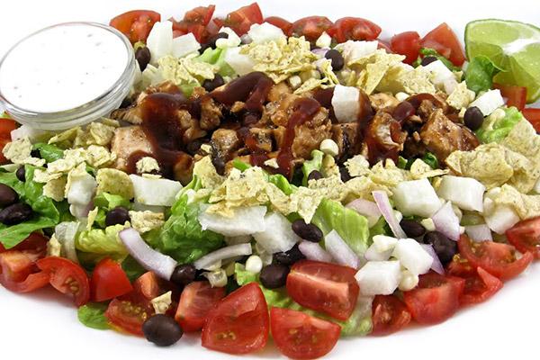 Calories In California Pizza Kitchen Bbq Chicken Salad No Dressing