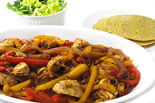 chicken fajitas crockpot lime chicken fajitas chicken fajitas with ...