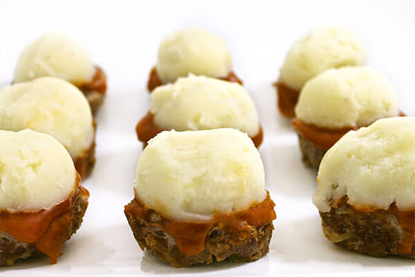 Skinny Meatloaf Cupcakes with Weight Watchers Points | Skinny Kitchen