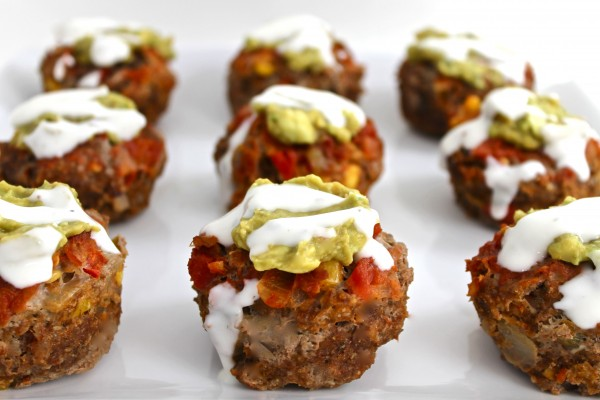 mexican meatloaf cupcakes photo