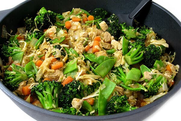 Recipe cabbage stir fry chicken