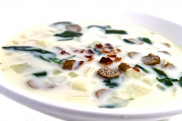 Olive Garden Zuppa Toscana Made Skinny With Weight Watchers Points Skinny Kitchen