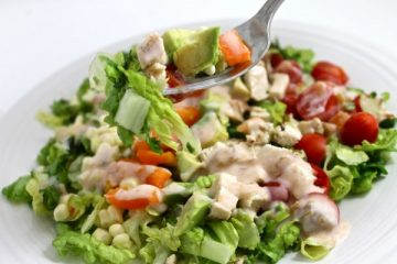 Southwestern chicken salad 1