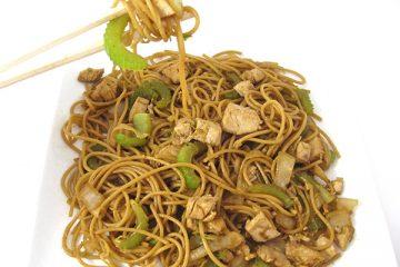 Skinny Chicken Chow Mein